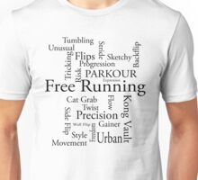 Terms of freerunning Unisex T-Shirt