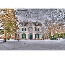 Carriage and House Photographic Print