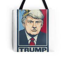 Trump CombOver Tote Bag