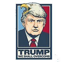 Trump CombOver Photographic Print