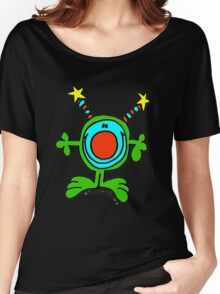 Green Doodle Dude Women's Relaxed Fit T-Shirt