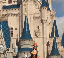 Goofy's Party With The Castle Sticker