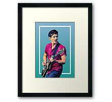 Alex Turner illustration  Framed Print