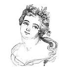 """""""Dido"""" engraving after Gigoux, Gil Blas 1835 by OldeArte"""