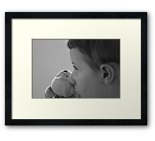 Oh stinky I've missed you today... Framed Print