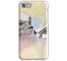 Honey Badger meets the American Badger iPhone Case/Skin