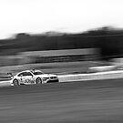 BMW M3 ALMS GT2 Panning Mosport Monochrome by LongbowX