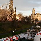 Scott Monument Winter 2009 by Sarah  Edmondson