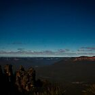 Echo Point - Three Sisters 02 by Steven Maynard