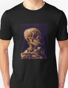 Vincent Van Gogh's 'Skull with a Burning Cigarette'  T-Shirt