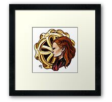 The Amazing Goddess Framed Print