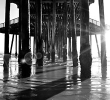 Shadows at the Pier by Cleber Photography Design