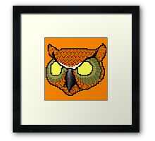 Rasmus Mask | Hotline Miami Framed Print
