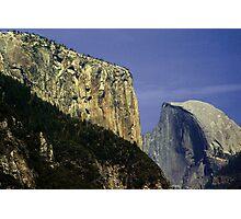 El Capitan and Half Dome in Yosemite Photographic Print