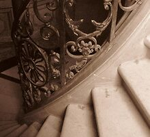Winding Staircase by Amy McHugh