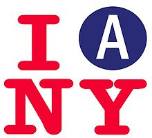 I love the A subway New York City by hookink