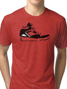 Retro Shoe Tri-blend T-Shirt