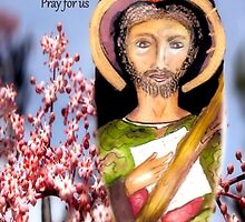 St.Jude Thaddeus Pray for Us by CatholiCARDS