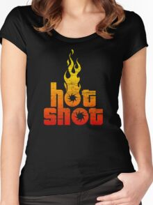 Hot Shot Women's Fitted Scoop T-Shirt