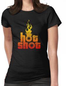 Hot Shot Womens Fitted T-Shirt