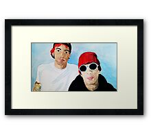 Tyler and Josh Framed Print