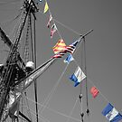 The Flag Ship by laruecherie