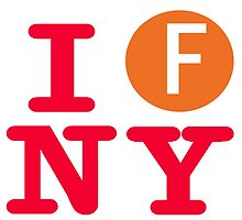 I love the F line subway New York City by hookink