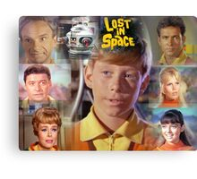 Lost in Space Montage Canvas Print