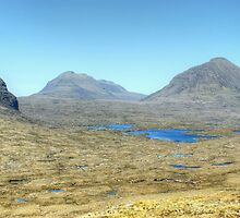 Torridonian Wilderness by Jamie  Green