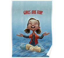Girls are Fun! Poster