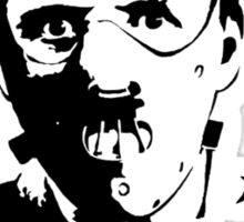 Hannibal the Cannibal Sticker