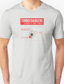 How Turbochargers work: by Top Gear's Jeremy Clarkson (red version) T-Shirt