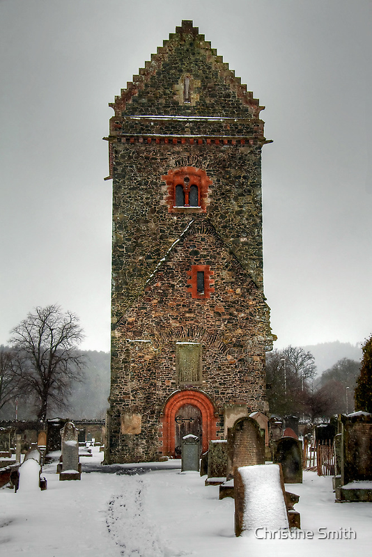 St Andrew's Tower, Peebles by Christine Smith