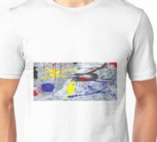 Abstract Colors Oil Painting #45 Unisex T-Shirt
