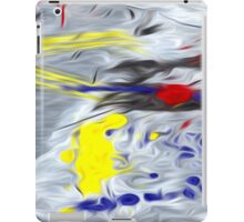 Abstract Colors Oil Painting #45 iPad Case/Skin