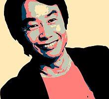 Shigeru Miyamoto by BradBailey