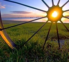 Wheel of Fire Geelong waterfront by Andrew (ark photograhy art)