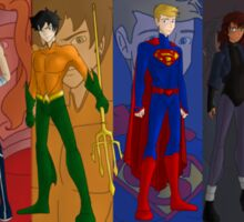 The Justice League of Olympus Sticker