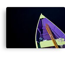 Boat in Lunenburg - Nova Scotia Canvas Print