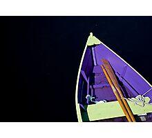 Boat in Lunenburg - Nova Scotia Photographic Print