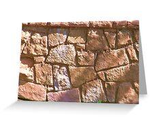Stonework Greeting Card