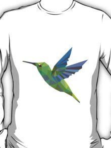 Humming bird lowpoly T-Shirt