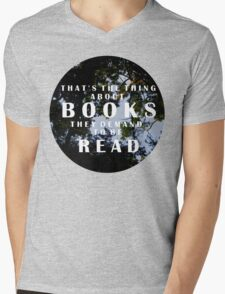 The Thing About Books T-Shirt