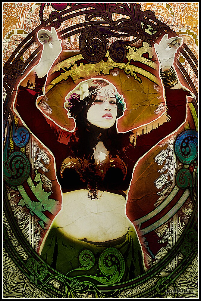 Sweet Art Thou - Nouveau Vintage Angela Bond by prelandra
