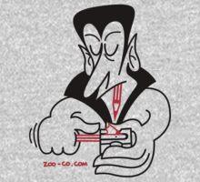 Dracula Sharpening his Teeth by Zoo-co