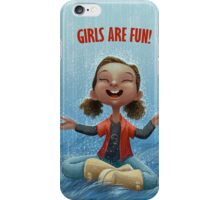 Girls are Fun! iPhone Case/Skin