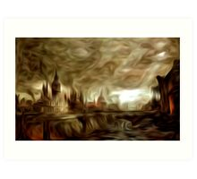 The End of Days Oil Painting Art Print