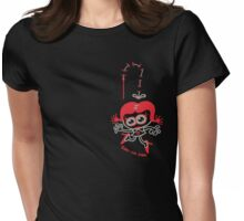 Stitched Woman Womens Fitted T-Shirt