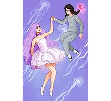 Princess Jellyfish Photographic Print