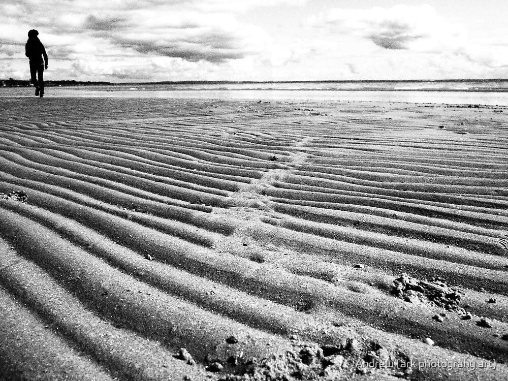 Lonely Beach (near geelong) by Andrew (ark photograhy art)